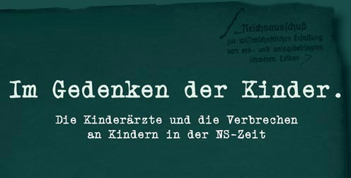 Im Gedenken der Kinder: Ausstellung in Würzburg