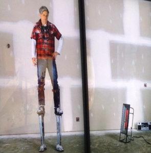 Rodney Graham. Lightboxes @ Frieder Burda Museum. Selbstinszenierung als Handwerker